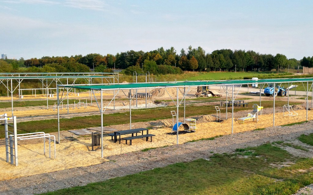 Fitnesspark in Riem
