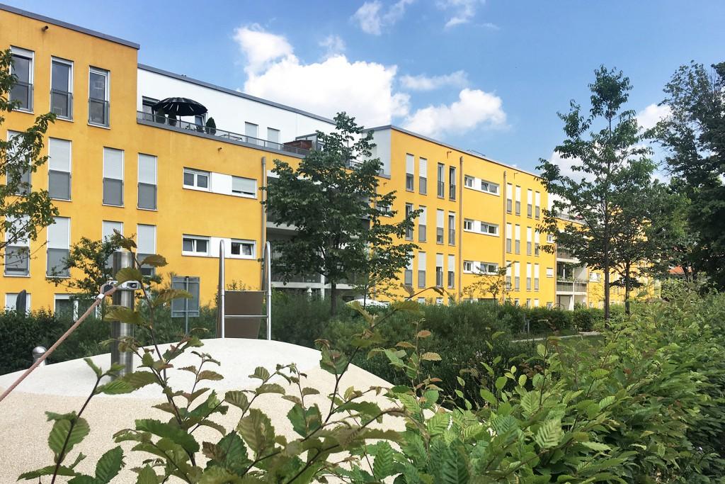 Neubauten in der Maikäfersiedlung