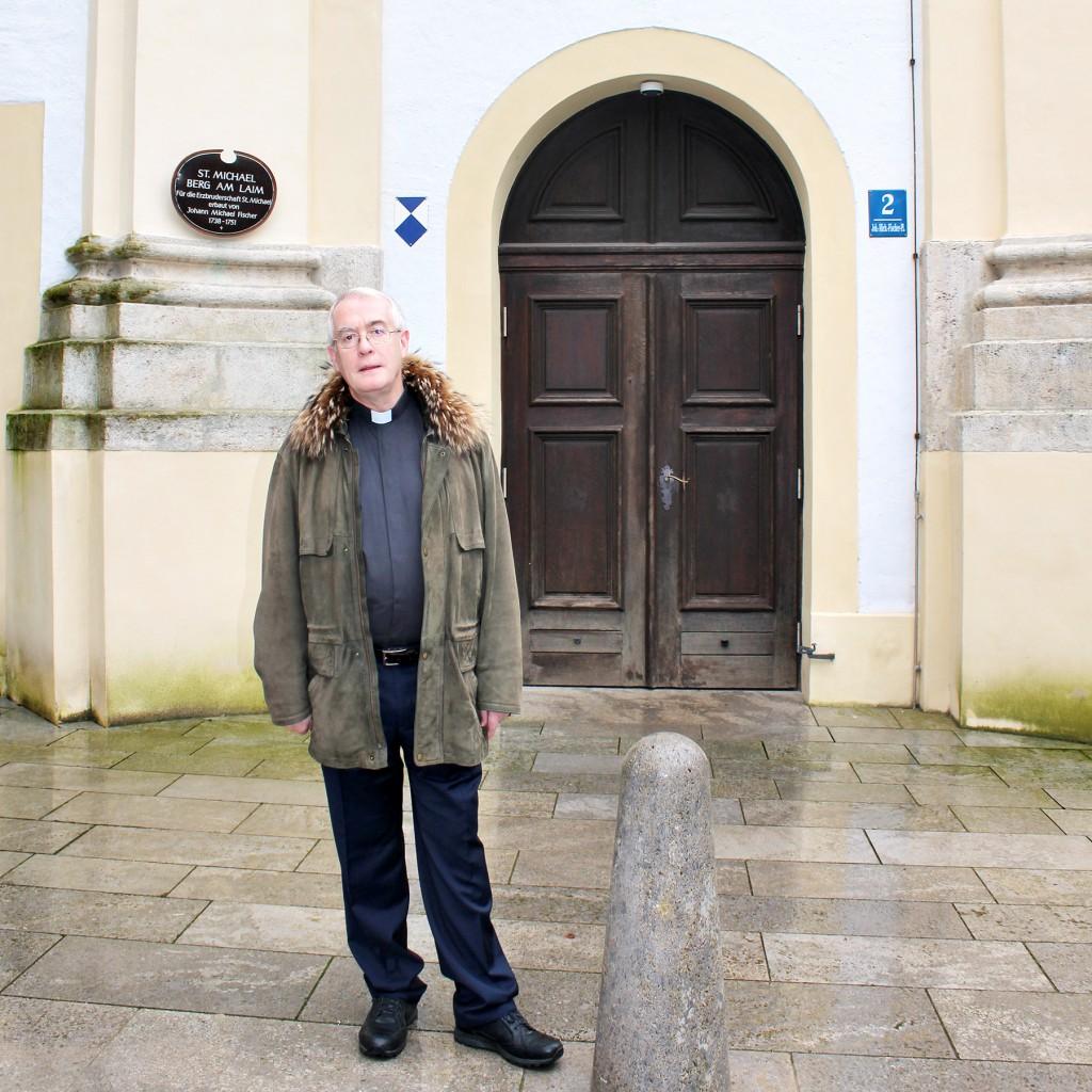 Pfarrer Brian McNeil