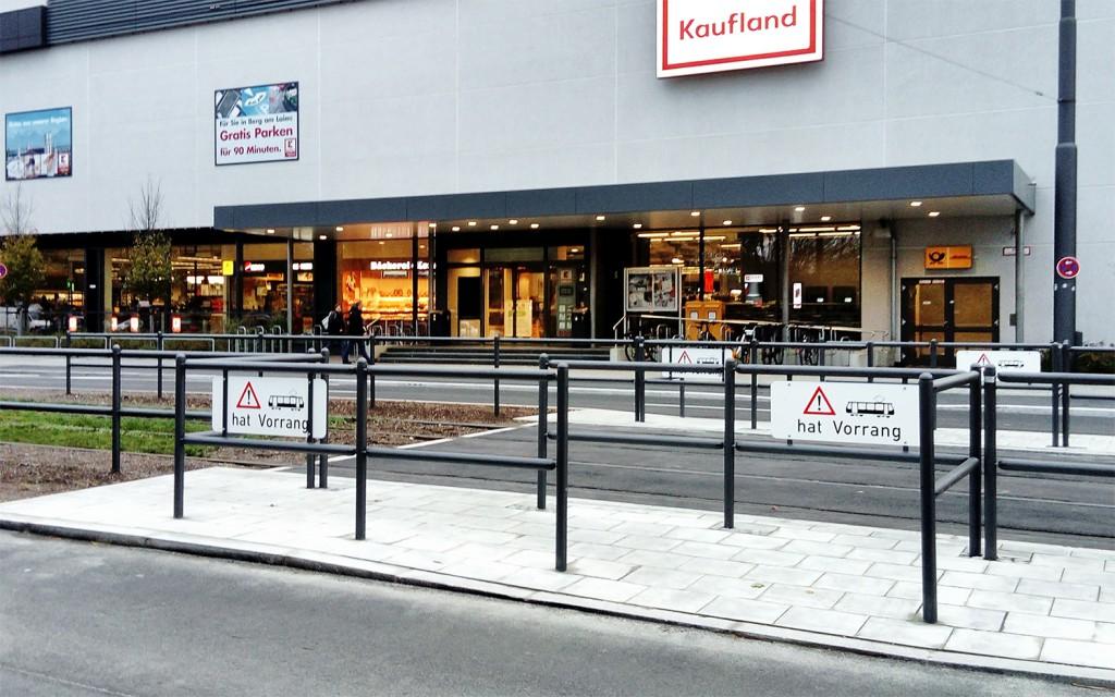 Kaufland-Querung