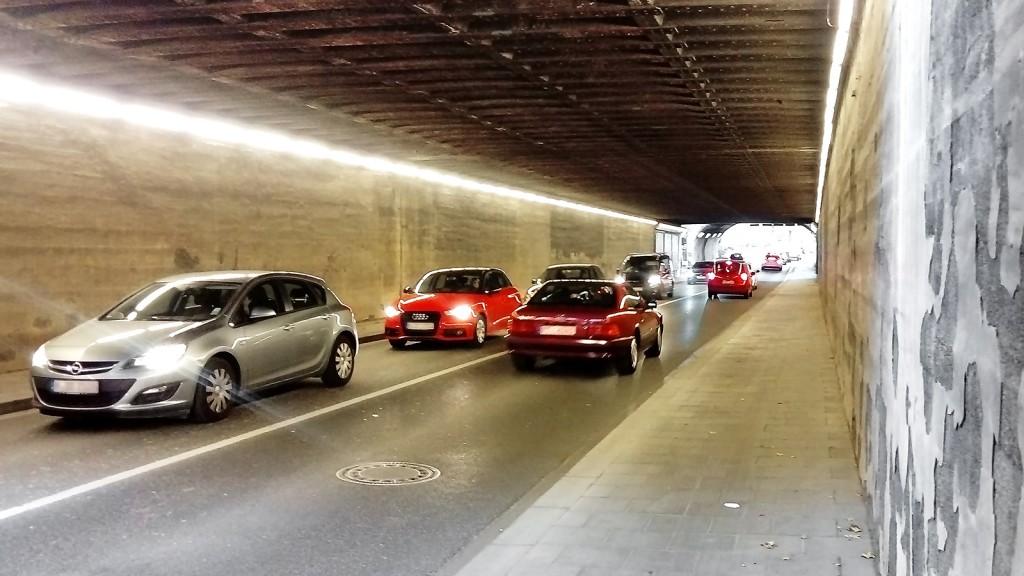Tunnel an der Truderinger Straße
