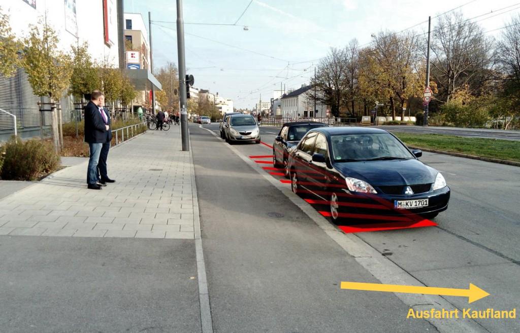 Ergänzung von Fahrbahnmarkierungen