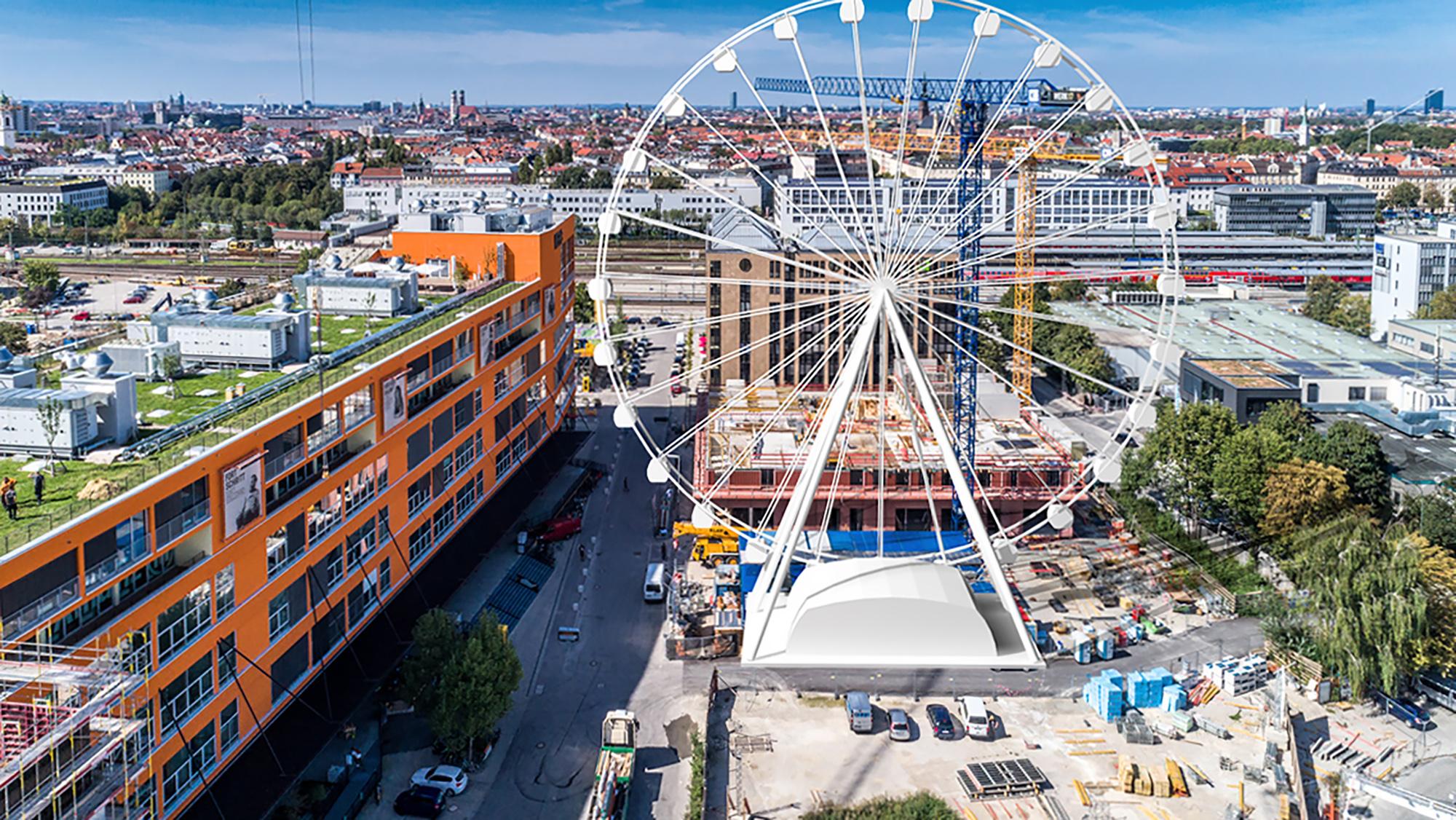 """""""Wheel of Munich: Ein Riesenrad im Werksviertel - Unser"""