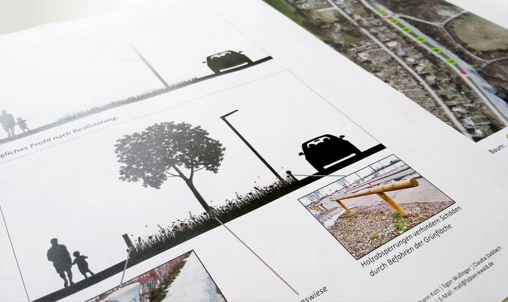 Vorschlag Echardinger Straße