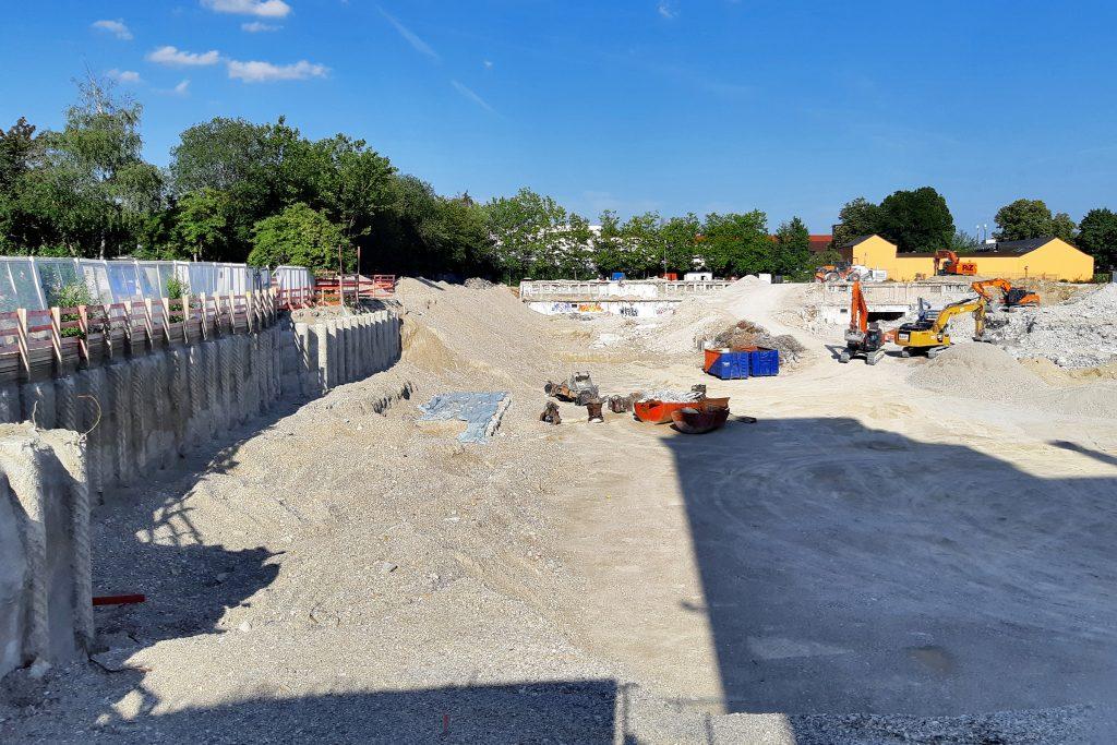 Baustelle Anzinger Straße